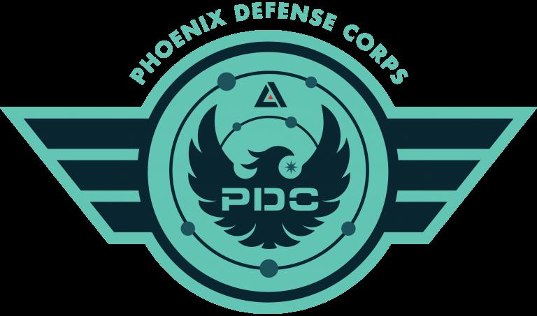 laser tag team - phoenix defense corps
