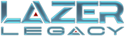 Lazer Legacy Logo - Destination Laser Tag Event Center